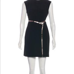 Halatom black cutout short dress nwot 2